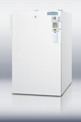 Summit FF511LBIMEDSCADA Summit Series Freestanding Counter Depth Compact Refrigerator with 4.1 cu. ft. Capacity, 3 Wire ShelvesField Reversible Doors