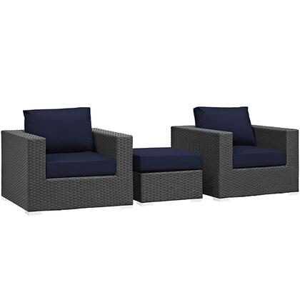 Modway EEI1891CHCNAVSET  Patio Sets