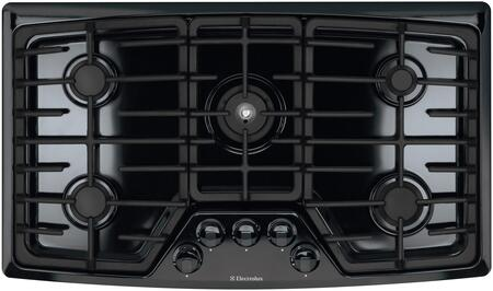 Electrolux EW36GC55GB Wave-Touch Series Gas Sealed Burner Style Cooktop, in Black