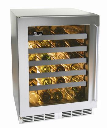 """Perlick HP24WS4LDNU 23.875"""" Built-In Wine Cooler"""
