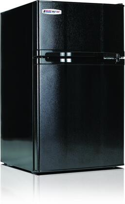 """MicroFridge 3.1MF4 19"""" Energy Star Compact Refrigerator with 3.1 cu. ft. Capacity, Freezer Compartment, Interior Lighting, Smart Store Door and Safe Plug Technology in"""