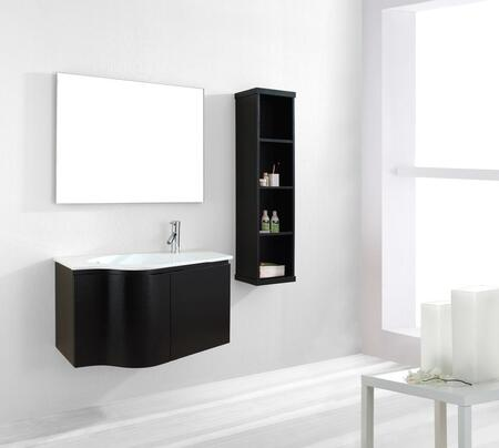"""Virtu USA ES-1236 36"""" Roselle Single Sink Bathroom Vanity Set in"""