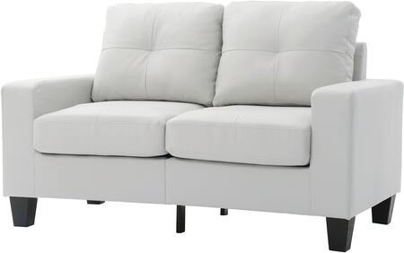 Glory Furniture G460AL Newbury Series Faux Leather Modular Loveseat