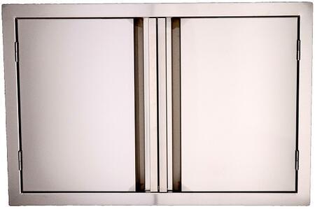 RCS VDD Valiant Stainless Double Door