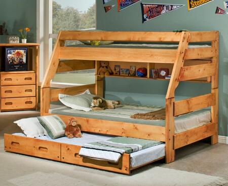 Chelsea Home Furniture 35447204739  Twin over Full Size Bunk Bed