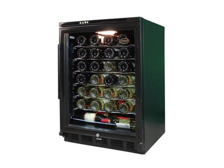 "Vinotemp VTWC58GNVB10 24"" Built-In Wine Cooler"