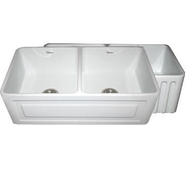 Whitehaus WHFLRPL3318SBLU Kitchen Sink
