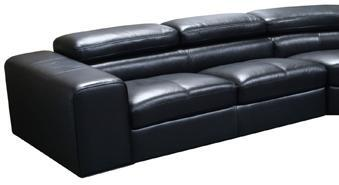 Diamond Sofa SURROUNDLSBL  Sofa