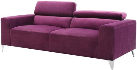 Glory Furniture G335S  Stationary Suede Sofa
