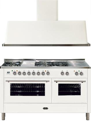 Ilve 721628 Majestic Techno Kitchen Appliance Packages