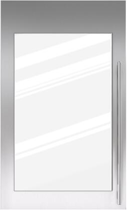 Sub-Zero 702540x Door Panel with Tubular Handle and Lock for IW-30R Model, in Stainless Steel