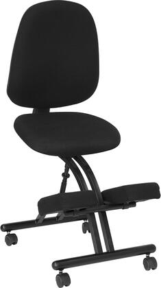 """Flash Furniture WL1428GG 19"""" Adjustable Contemporary Office Chair"""
