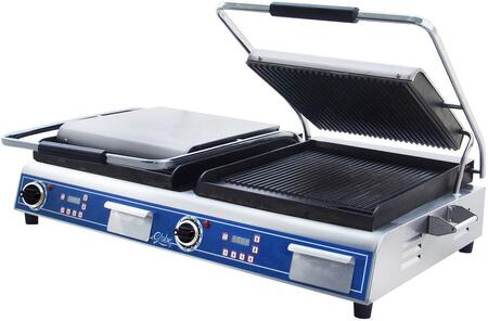 Double Grooved Sandwich Grill