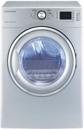Daewoo DWRWE5413SC  Electric Dryer, in Silver