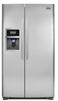 Frigidaire FGUS2645LF Freestanding Side by Side Refrigerator