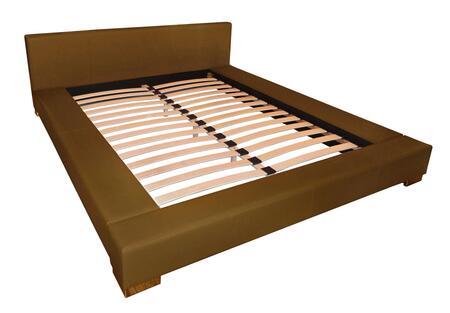 DG Casa 2225KGRY Bali Series  King Size Platform Bed