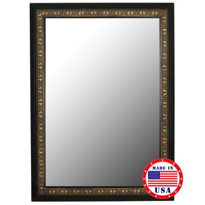 Hitchcock Butterfield 81120X 2nd Look Mumbai Copper Gold Black Surround Framed Wall Mirror
