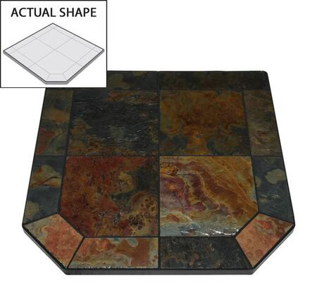 """American Panel AP314 40"""" x 40"""" Flat Wall Hearth Board"""
