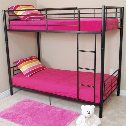 Walker Edison BTOTBL Sunset Series  Twin Size Bunk Bed