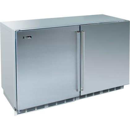 Perlick HP48FRS2L2RDNU Signature Series Counter Depth Side by Side Refrigerator with 12.3 cu. ft. Capacity