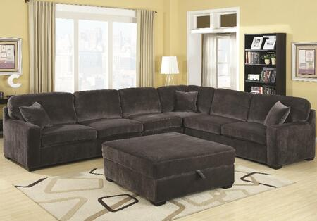 Coaster 500753 Luka CB Series Sofa and Chaise Fabric Sofa