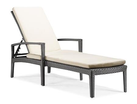 Zuo 701137 Phuket Series  Chaise Lounge
