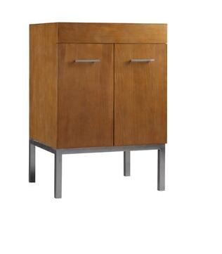 "Ronbow 037023-6- Venus 23"" Wood Vanity Cabinet with Two Doors, One Hidden Drawer, and Metal Legs:"