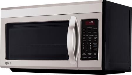 Lg Lmv1813st 1 8 Cu Ft Over The Range Microwave Oven