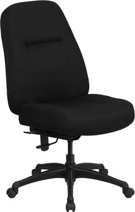 "Flash Furniture WL726MGBKGG 28"" Contemporary Office Chair"