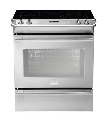 Frigidaire FPCS3085LF Professional Series Slide-in Electric Range with Smoothtop Cooktop Storage 4.2 cu. ft. Primary Oven Capacity