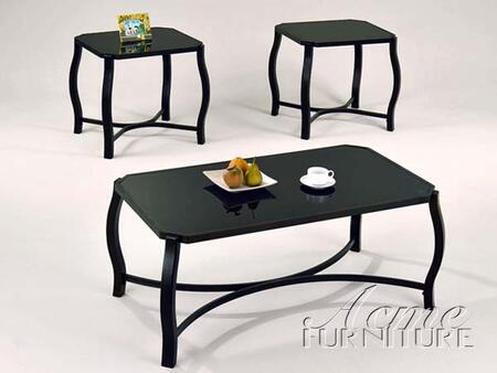 "Acme Furniture 18440 48"" Contemporary Living Room Table Set"