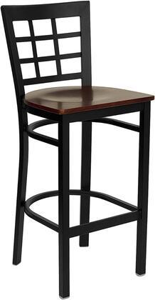 Flash Furniture XUDG6R7BWINBARMAHWGG Hercules Series Not Upholstered Bar Stool