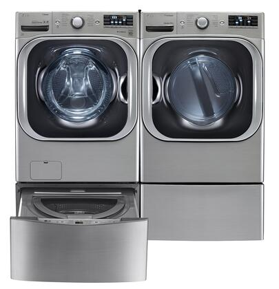 LG LG4PCFL29G2PEDSSKIT4 Washer and Dryer Combos