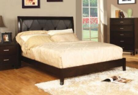 Yuan Tai 8161K Winslow Series  King Size Panel Bed