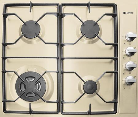 Verona VECTG424SB  Gas Sealed Burner Style Cooktop