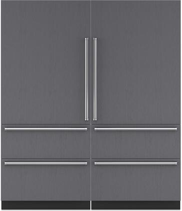 Sub-Zero 710382 Side-By-Side Refrigerators