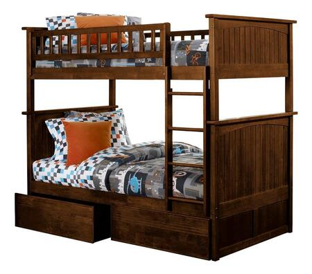 Atlantic Furniture AB59114  Twin Size Bunk Bed