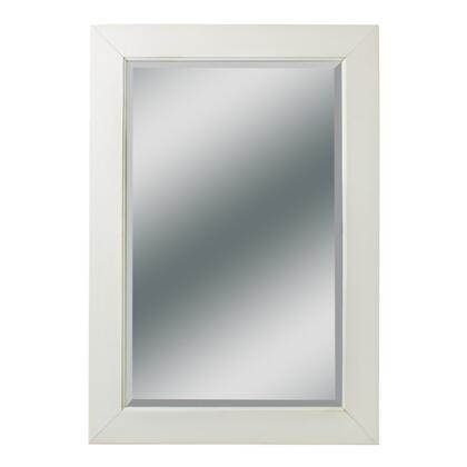 "Kaco Dover Collection 340-2230 27"" x 39"" Large Mirror with Multi-Step Sherwin Williams Finish and Beveled Glass in"