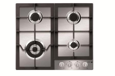 "Fagor FA640STX 24""  Gas Sealed Burner Style Cooktop, in Stainless Steel"