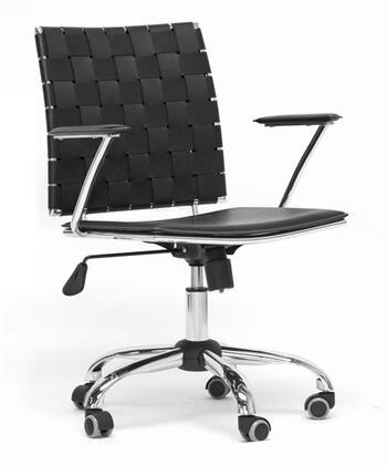 Wholesale Interiors ALC1866C Vittoria Series Leather Modern Office Chair