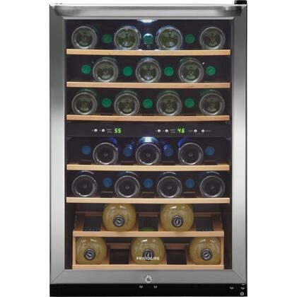 "Frigidaire FFWC3822QS 21.5"" Freestanding Wine Cooler, in Stainless Steel"