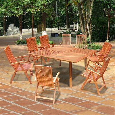 Vifah V1131SET16 Patio Tables