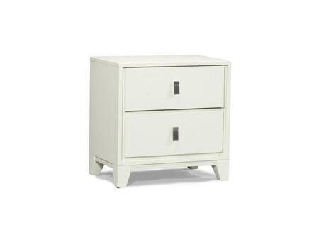 Klaussner 360670 East Loft Series Square Wood Night Stand