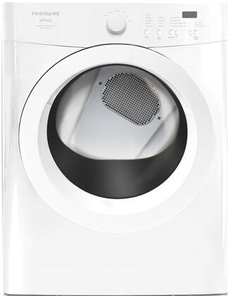 Frigidaire FAQG7001LW Affinity Series 7.0 cu. ft. Gas Dryer, in White