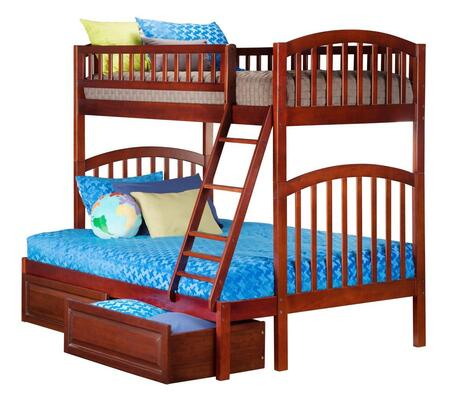 Atlantic Furniture AB64224  Twin over Full Size Bunk Bed
