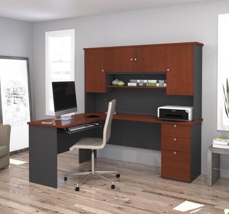 Bestar Furniture 81420 Manhattan L-shaped workstation