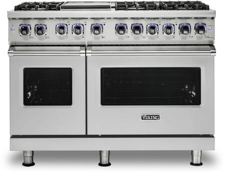 Viking Vgr74826gss 7 Series 48 Inch Gas Freestanding Range In Stainless Steel Liances Connection