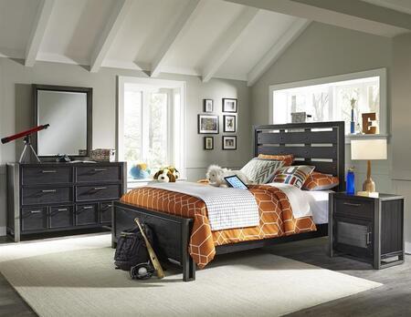 Samuel Lawrence 8942401532533BDMN Graphite Full Bedroom Sets