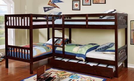 Furniture of America CMBK904BEDSET Marquette Twin Bedroom Se