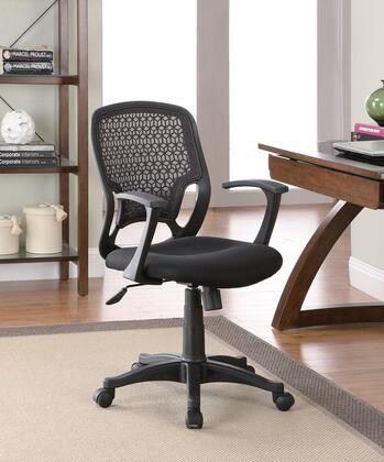 "Coaster 800056 23.75"" Adjustable Contemporary Office Chair"